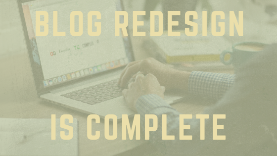 New Blog, New Courses, New…