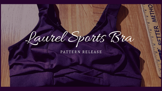 Laurel Sports Bra Pattern Release
