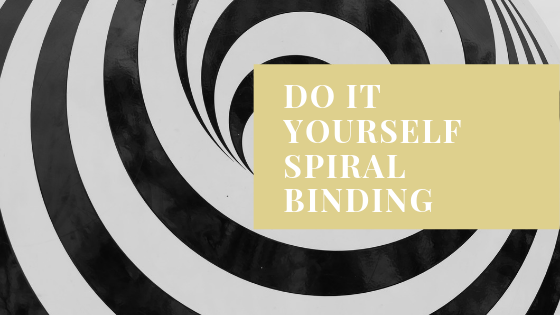 Spiral Binding Do-it-Yourself
